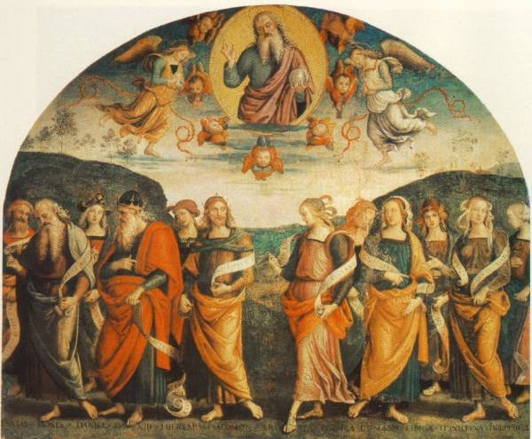 The Almighty with Prophets and Sybils 1500